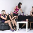 Party girls — Stock Photo #9044546