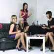 Party girls — Stock Photo #9044552