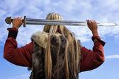 Fille de viking — Photo