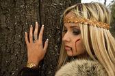 Viking girl — Stockfoto