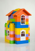 Toy house model — Stock Photo