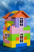 Toy house model — Stock Photo