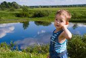 Pequeño lago — Foto de Stock