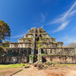 Ancient khmer pyramid in Koh Kher, Cambodia - Stock Photo