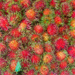 Bunch of rambutans - Stock Photo