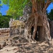 Stock Photo: Ancient temple Preah Khin Angkor complex