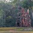 Stock Photo: Ancient temple in Angkor complex