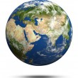 Planet Earth 3d render — Stock Photo