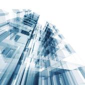 Abstraktní budova — Stock fotografie