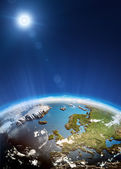 Europe from space — Stock Photo