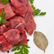 Raw meat — Stock Photo #8081402