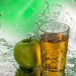 Apple juice — Stock Photo #9673658
