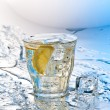 Soda with ice — Stock Photo #9676544