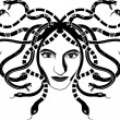 Royalty-Free Stock Vector Image: Medusa Gorgona