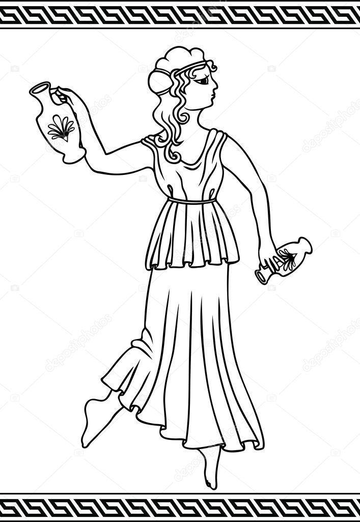 Рисунки чего то греческого