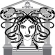 Royalty-Free Stock Vectorafbeeldingen: Medusa Gorgona