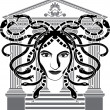 Royalty-Free Stock Immagine Vettoriale: Medusa Gorgona