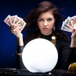 Fortune teller — Stock Photo
