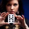 Fortune teller — Stock Photo #10212778