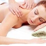 Getting a massage. — Stock Photo #9076991