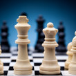 Chess pieces — Stock Photo