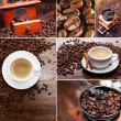 Stock Photo: Collage of coffee