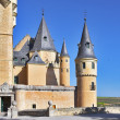 Ancient picturesque palace of the Spanish king - Foto Stock