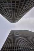Showy skyscrapers — Stock Photo