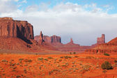 The majestic Monument Valley — Stock Photo