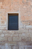 The window closed by a lattice — Stock Photo