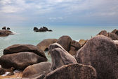 The rocks on the Gulf of Thailand — Stock Photo