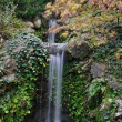 Stock Photo: Small waterfall in pond