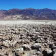 Sad space in Death Valley - Stock Photo