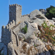 The Moorish castle in Portugal — Stock Photo