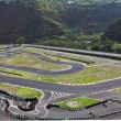 The  race track on the island of Madeira — Stock Photo
