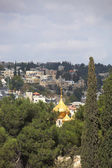 Golden dome of the church of St. Mary Magdalene — Stock Photo