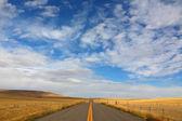 Grand route américaine dans les domaines — Photo