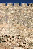The walls of Jerusalem — Stock Photo
