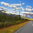 The American road. Northern landscape — Stock Photo #8649253