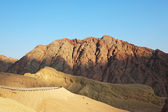 The ancient mountains of Sinai — Stock Photo