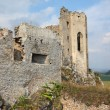 Dilapidated medieval fortress — Stock Photo