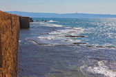 The fortification. A sea surf — Stock Photo