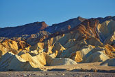 The Zabriski-point. Sunset — Stock Photo