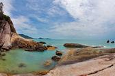 The azure sea of Koh Samui — Stock Photo