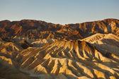 Zabrisky-ponto no vale da morte em um pôr do sol — Foto Stock