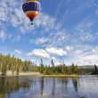 The picturesque balloon flies — Stock Photo