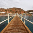 Coast of the resort city of Eilat - Stock Photo