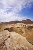 峡谷と砂漠の崖 — ストック写真
