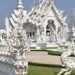 White fabulous palace in Southeast Asia — Stock Photo