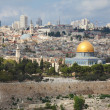 The majestic panorama of Jerusalem — Stock Photo